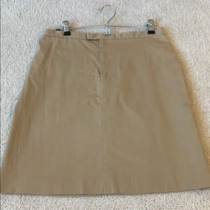 Banana Republic Khaki Skirt Size 6